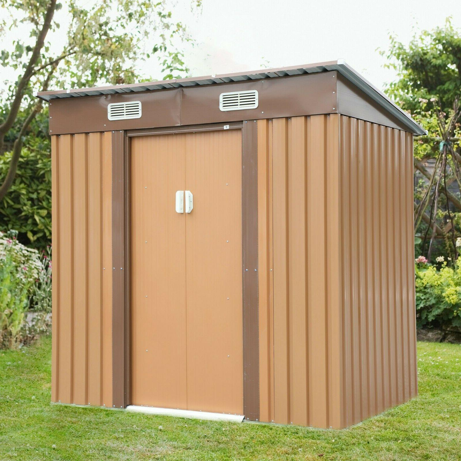 garden tool storage utility shed outdoor house