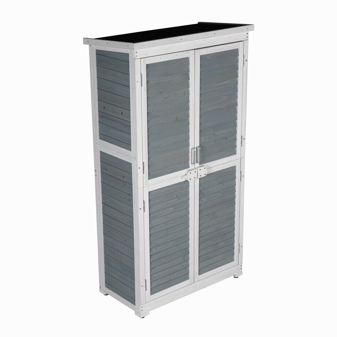 Outdoor Storage Tool Shed Blinds