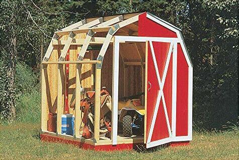 Outdoor Garden Kit Tools Wooden Backyard Unit