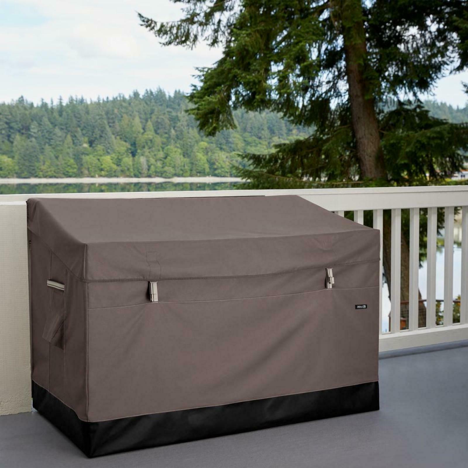 Outdoor 85 Deck Box Garage Boxes Dark