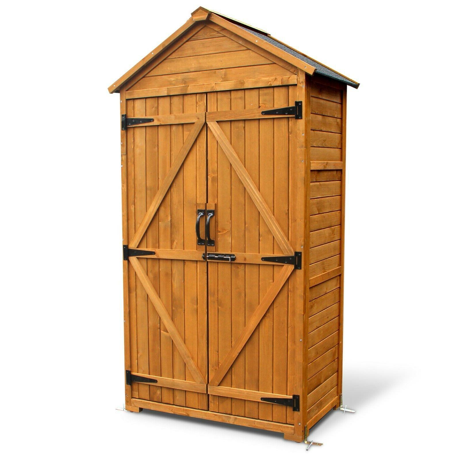 Mcombo Outdoor Storage Cabinet Tool