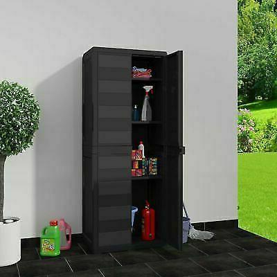 Outdoor Plastic Garage Shelves