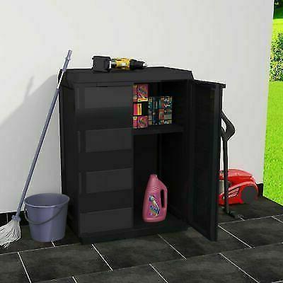 Outdoor Storage Plastic Garage Shelves