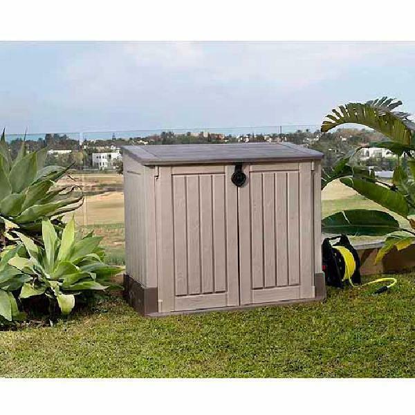 Outdoor Storage Shed Box 30 Resin Waterproof Weatherproof