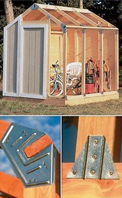 Outdoor Storage Shed DIY Building KIT Garden Utility Garage