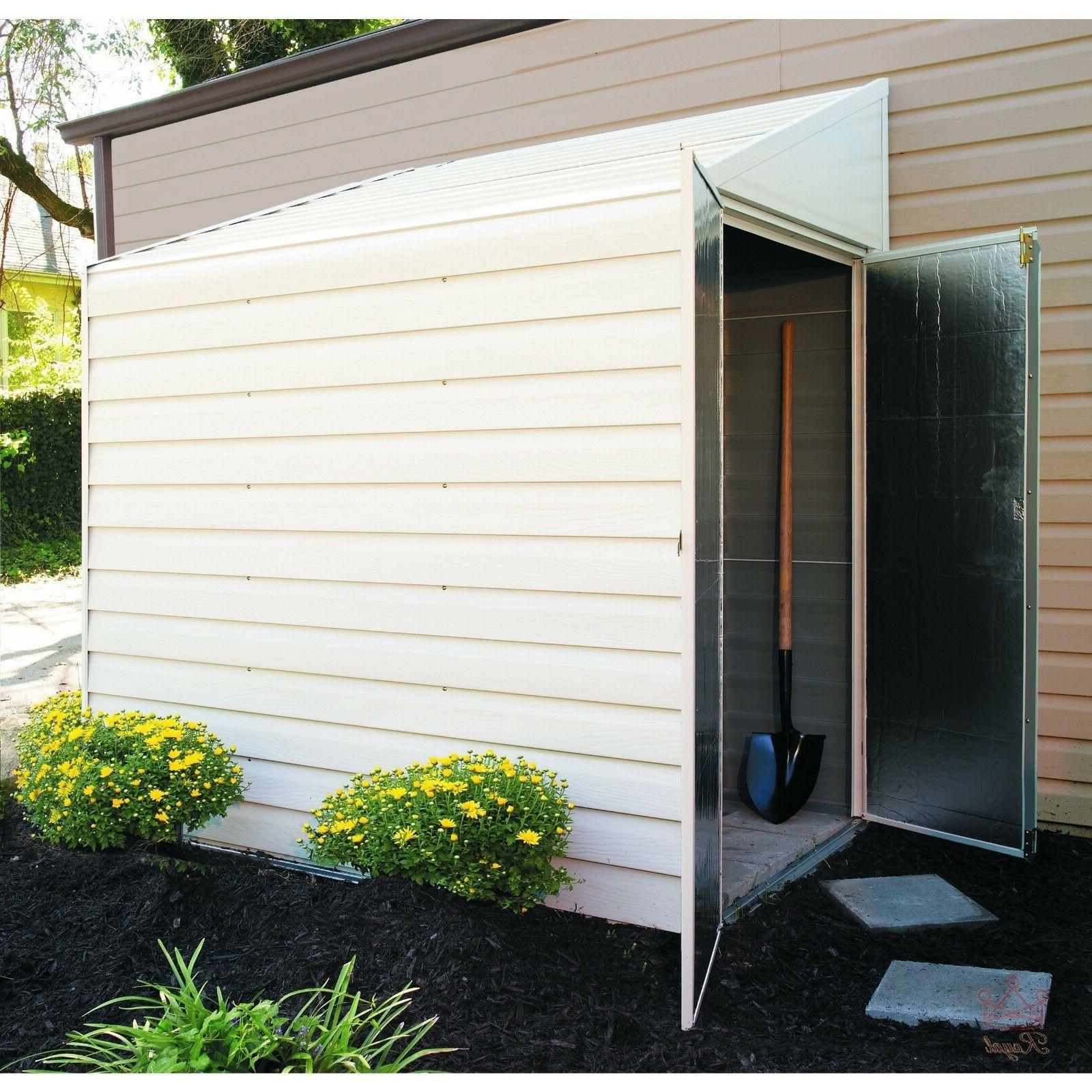 shed kit outdoor storage garden wood backyard