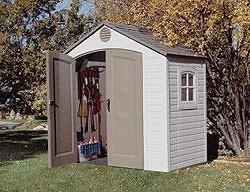 Lifetime 8' x 5' Outdoor Storage Building