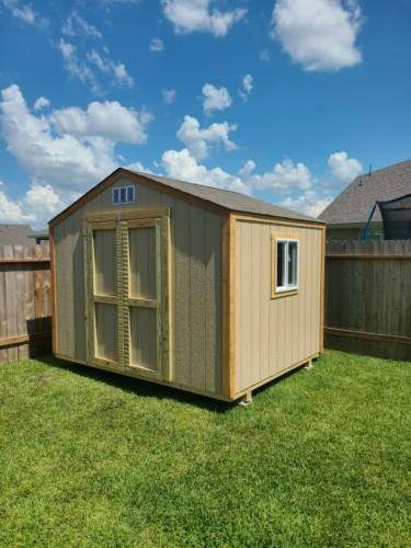STORAGE BUILDING,~NEW~ 10x8 Shed,