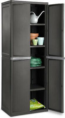 storage cabinet plastic horizontal shed