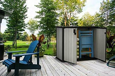 Storage Shed 4.6 x 2.5 Patio Garden