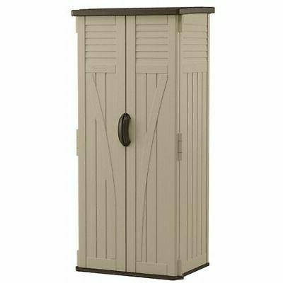 storage shed vertical double wall resin 22