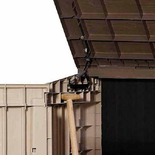 Outdoor Storage Shed Box Resin Waterproof