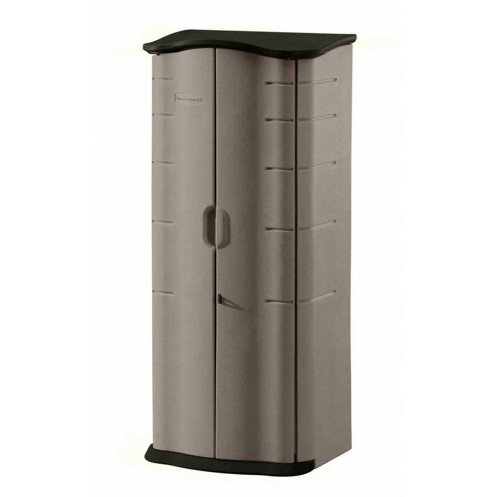 Rubbermaid Vertical Storage Shed 2 ft. x 2 ft. Weather-Impac