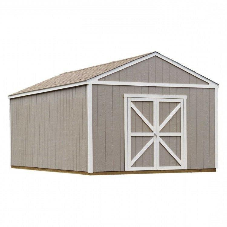 Wood Storage Shed Garage Workshop No Floor Kit Building Pref