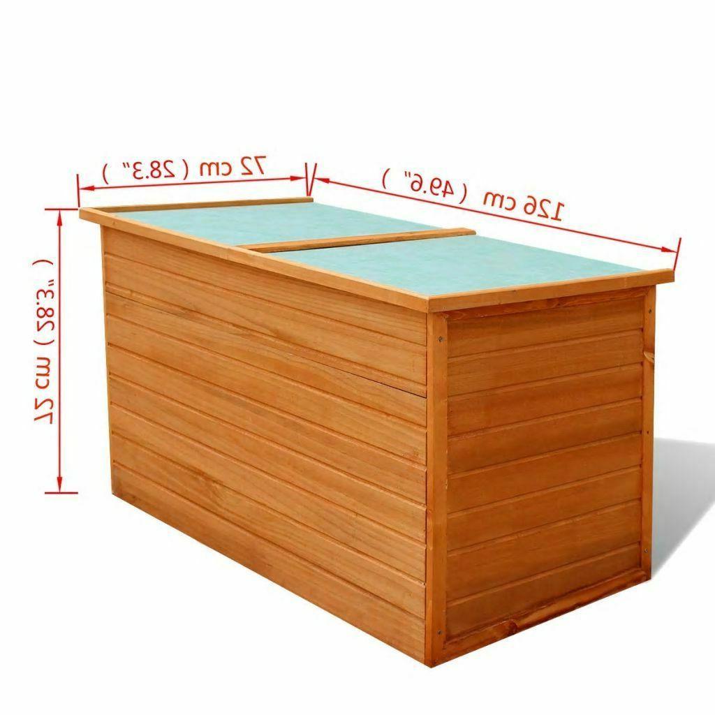 Wood Box Garden Garage new
