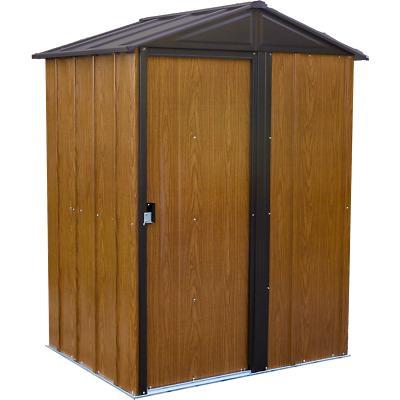 woodlake steel storage shed 5 ft x