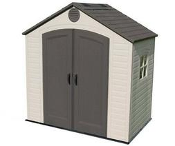 Lifetime 6406 8' X 5' Feet Ft Outdoor Plastic Storage Shed K
