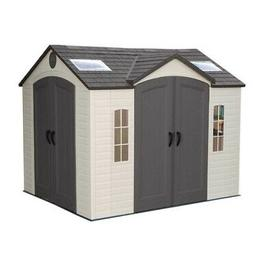 Lifetime Garden Shed 8 Ft X 10 Ft Side Entry Outdoor Storage