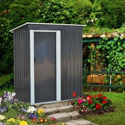 Metal Storage Shed Outdoor Storage for Backyard Tools and Ac