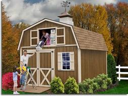 Best Barns Millcreek 12' X 16' Wood Shed Kit