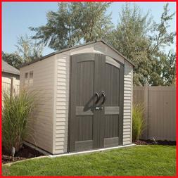 Lifetime Outdoor Storage Shed, 7' x 7'