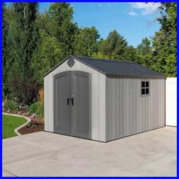 Lifetime Products 8' x 12.5' Resin Outdoor Storage Shed