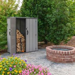 Lifetime Vertical Storage Shed, Floor Included