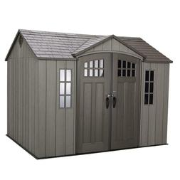 Outdoor Storage Shed 10' x 8' installation hardware Included