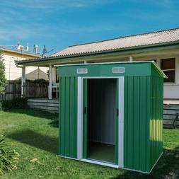 Outdoor Storage Shed 4 x 6 Ft Lockable Organizer for Garden