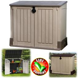 Outdoor Storage Shed Large 4.3 x 2.5' Garden Patio Pool Yard