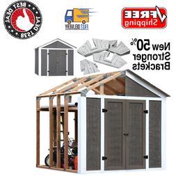 Peak Style Instant Framing Kit Garden Utility Garage Outdoor