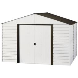 Arrow Shed PM108-A Parkview 10-Feet by 8-Feet Steel Storage
