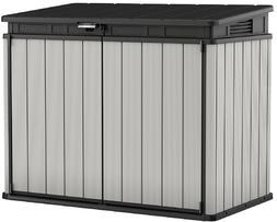 Keter Premier XL 41 cu. ft. Horizontal Outdoor Storage Shed,