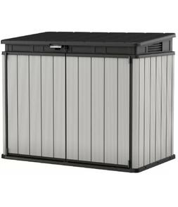 Keter Premier XL 41 cu. ft. Horizontal Outdoor Storage Shed,
