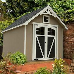 Ridgepointe 8' x 12' Wood Storage Shed, 940 Cubic Ft. of Sto