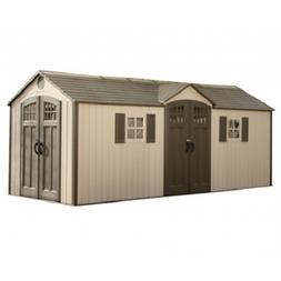 Riding Lawn Mower Shed Large Outdoor Storage for Motorcycle
