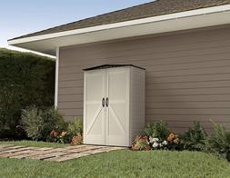 roughneck storage shed 5x2 faint maple