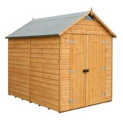 Bosmere Secure Storage Outdoor Shed Garden Lockable Door 6 f