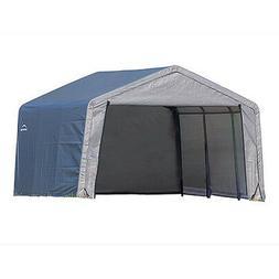 ShelterLogic 70333 10×10×8 Peak Style Storage Shed