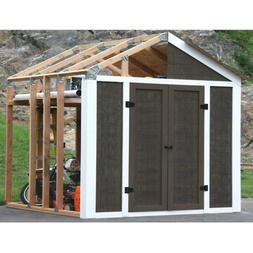 Shed Outdoor Storage Garage Tool Garden Utility DIY Building