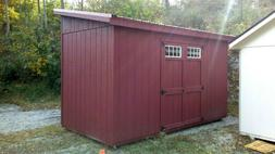 Shed, Storage 7x14 Lean-to Style