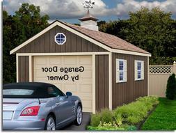 Best Barns Sierra 12x24 Wood Storage Garage Shed Kit - ALL P
