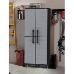 Keter Space Winner Tall Metro Storage Utility Cabinet Indoor