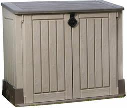 Storage Shed Deck Box Outdoor Waterproof Patio Large Plastic
