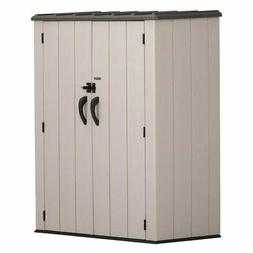 Lifetime Vertical Storage Shed - 53 Cubic Feet