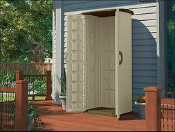 Suncast Vertical Utility Shed, Garden,Patio,Storage,Outdoor,