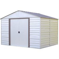 Arrow Shed Vinyl Milford Shed, 10 X 8 ft.