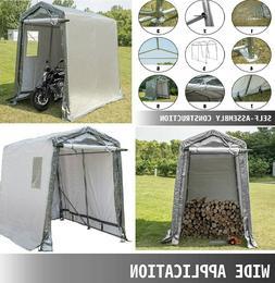 Waterproof Outdoor Shelter Roll Up Door Patio Storage Shed P