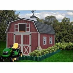 Best Barns Woodville 10' X 12' Wood Shed Kit