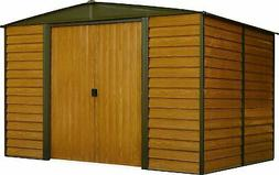 Arrow WR1012 Woodridge EG Steel Storage Shed, 10 by 12-Feet